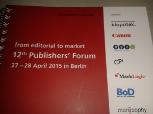 Publishers' Forum Nr. 12